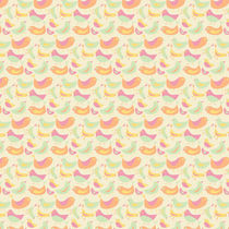 Vanilla Ice Cream Bird Pattern by Tasha Goddard