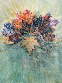 Herbstlaub (bouquet of foliage) von Dagmar Laimgruber