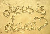 JESUS IS LOVE / JESUS IST LIEBE von Sandra Yegiazaryan