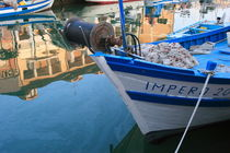 Fishing boat moored in Grado by Intensivelight Panorama-Edition