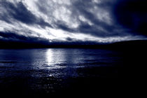 Dark blue river by Intensivelight Panorama-Edition