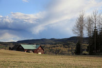 Farm house on a fine day in early spring von Intensivelight Panorama-Edition