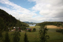The village at the lake von Intensivelight Panorama-Edition