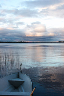 Rowing boat and lake by Intensivelight Panorama-Edition