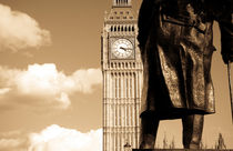Big Ben and Churchill by povillwock