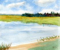 Summer Pond von Sandy McDermott
