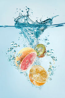 fruit splash by Tomer Burmad