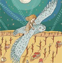night fly by Magdalena Toczydlowska-Talarczyk