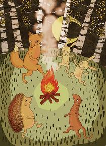 fire by Magdalena Toczydlowska-Talarczyk