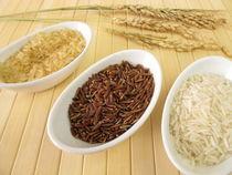 Reissorten und Reisrispen by Heike Rau