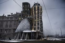 Fred and Ginger dancing house by emanuele molinari
