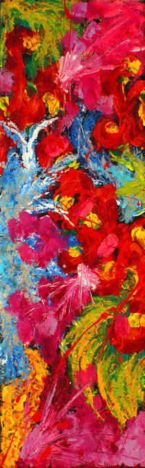 Floral Abstract 3 by Julia Fine Art