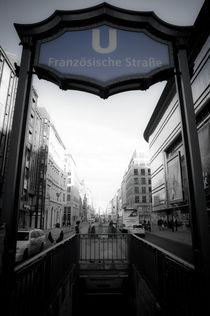 U Französische Straße von Jürgen Hopf