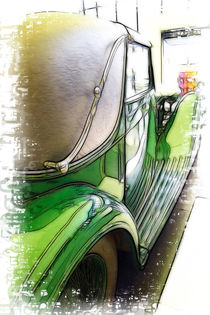 Bentley Car von Fiona Messenger