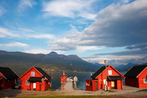 Jetty in a Norwegian fjord by Intensivelight Panorama-Edition