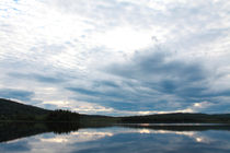 Clouds reflected in lake by Intensivelight Panorama-Edition