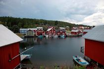 Swedish fishing village Boenhamn von Intensivelight Panorama-Edition