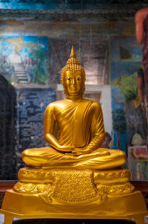 Goldener Buddha by Gina Koch