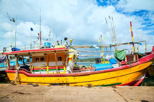 Yellow-boat