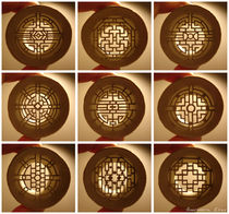 Rolls Chinese windows (Fenêtres chinoises) by Anastassia Elias