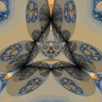 'Wada Fraktal mit Mandelbrot 2' by Frank Siegling