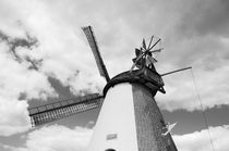 Windmill in Südhemmern by Harald Walker