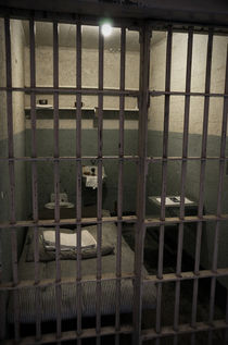 A cell in Alcatraz prison von RicardMN Photography