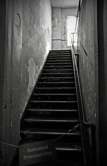 Alcatraz Hospital Stairs by RicardMN Photography