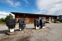 Abandoned gas station in northern Finland von Intensivelight Panorama-Edition