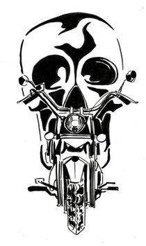 Dark Rider by Katerina Kopaeva