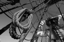 Ropes and rigging - monochrome von Intensivelight Panorama-Edition