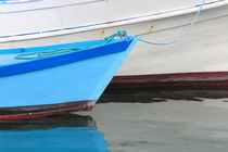 Blue skiff by Intensivelight Panorama-Edition