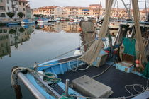 Fishing harbor in Grado by Intensivelight Panorama-Edition
