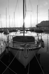 Sailing yacht - monochrome by Intensivelight Panorama-Edition