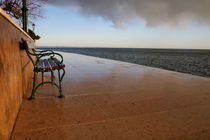Bench at the sea by Intensivelight Panorama-Edition