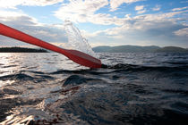 Oar splashing into the water by Intensivelight Panorama-Edition