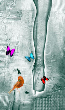 butterfly with leg by gwj