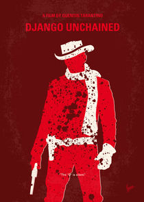 No184 My Django Unchained minimal movie poster von chungkong