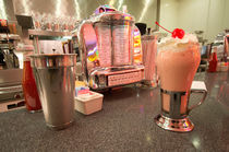 Strawberry Malt Shake  by Rob Hawkins