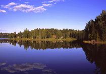 See in Värmland by Peter Bergmann