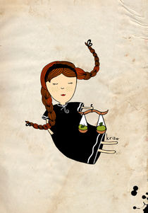 LIbra Zodiac  von Kristina  Sabaite