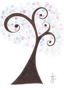 Busy tree by Tasha Goddard