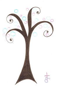 Elegant Tree by Tasha Goddard