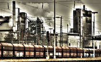 Industrielandschaft  by Barbara  Keichel