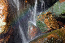 Rainbow over a cascade by Intensivelight Panorama-Edition