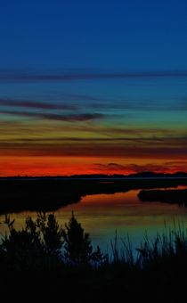 Deep Marshland Sunset by Billy Bartholomew