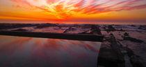 sunset at graaf's pool von Mike Kaplan