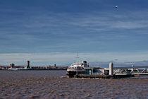 Ferry across the Mersey, Liverpool, UK by illu