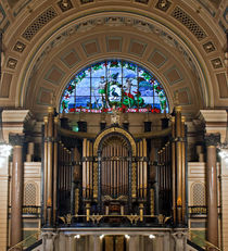 Interior of St Georges Hall, Liverpool by illu