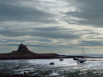 Lindisfarne Castle after a Shower by Roger Butler